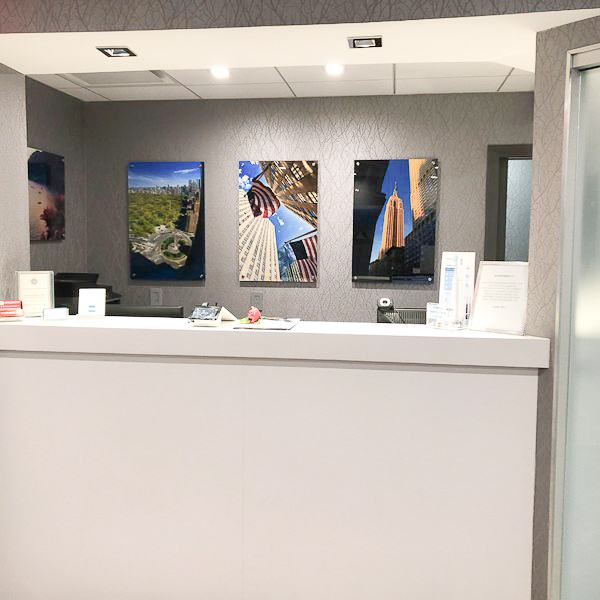 Dorian Tetelman DDS dental office front desk